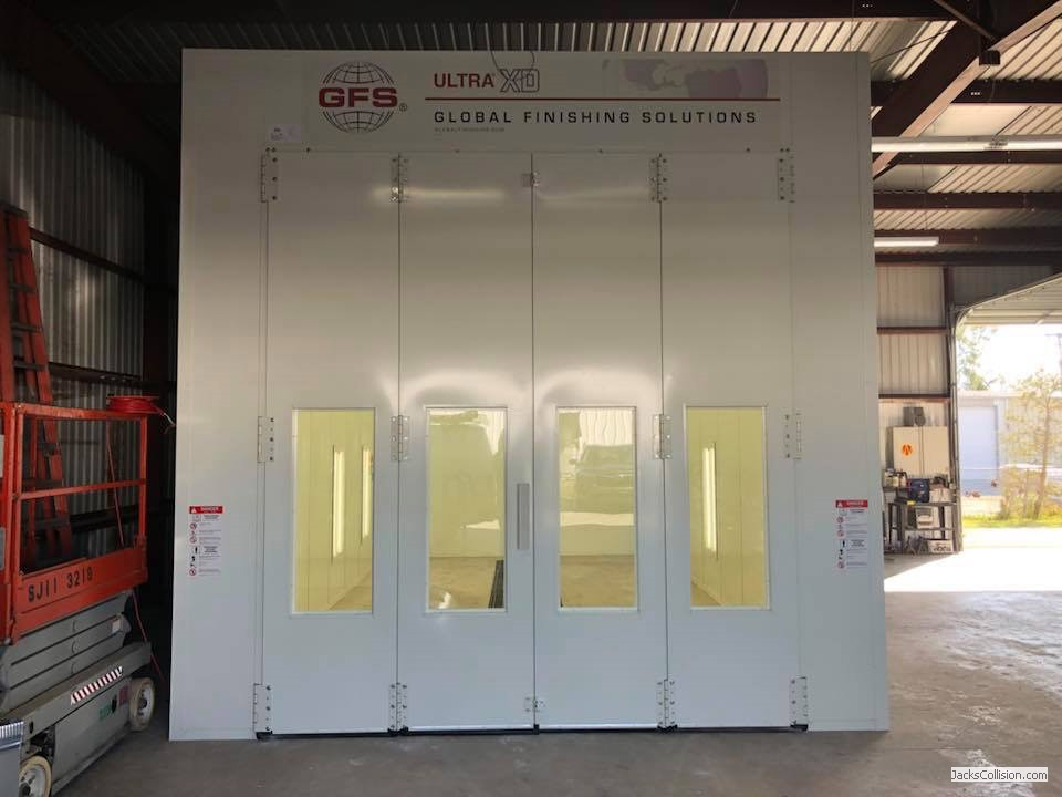 Global Oversized Paint Booth