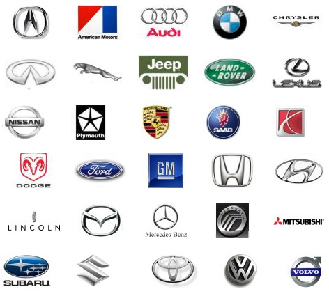 Paints for all car manufacturers